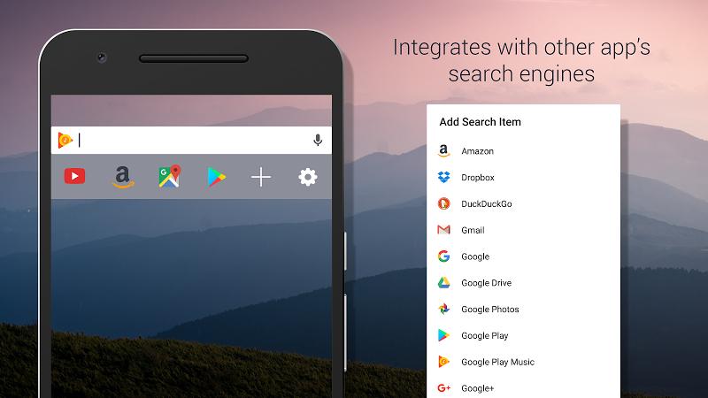 Custom Search Bar Widget CSBW Screenshot 1