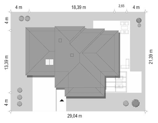 Dom z widokiem 6 B - Sytuacja