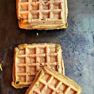 Curried Pumpkin Waffles