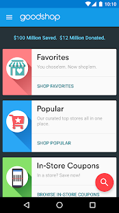 Goodshop Coupons- screenshot thumbnail