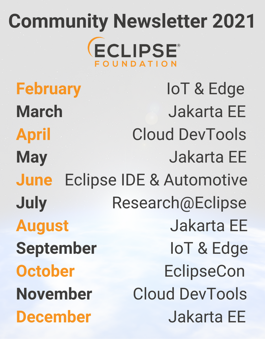 eclipse community newsletter