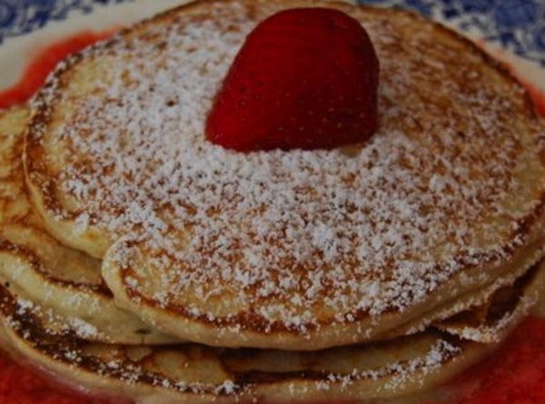 Whole-wheat Pancakes With Strawberry Sauce Recipe
