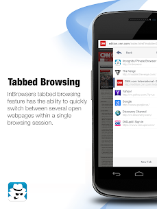 InBrowser – Incognito Browsing Apk Latest Version Download For Android 9