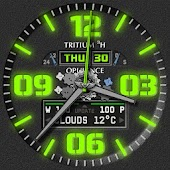 Opulence Tritium 3H Watch Face