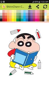 Download Shin Chan Coloring Book Games For PC Windows And Mac Apk Screenshot 2