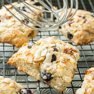 Almond Blueberry Scones.