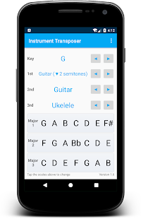 Instrument Transposer Screenshot