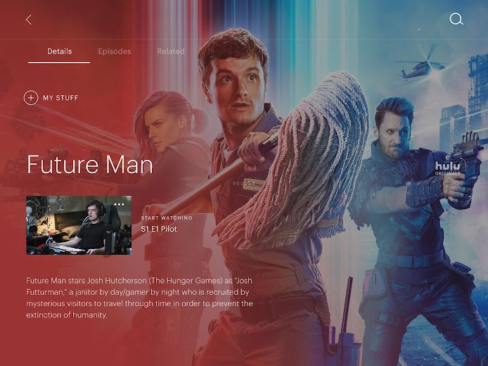 Screenshot 10 for Hulu's Android app'
