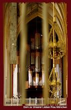 Photo: Hauptorgel im Dom zu Unserer Lieben Frau München, erbaut 1994 von der Firma Georg Jann