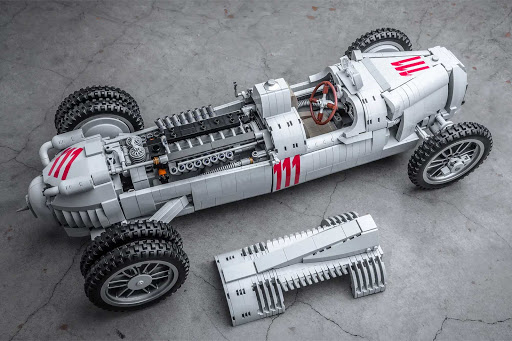 Petrol Heads Will Want The LEGO Auto Union Type C Race Car To Be An Official LEGO Set