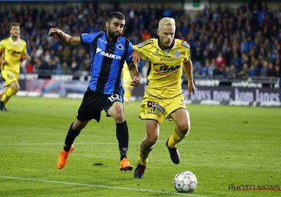 Le Club de Bruges s'en sort miraculeusement contre Lokeren