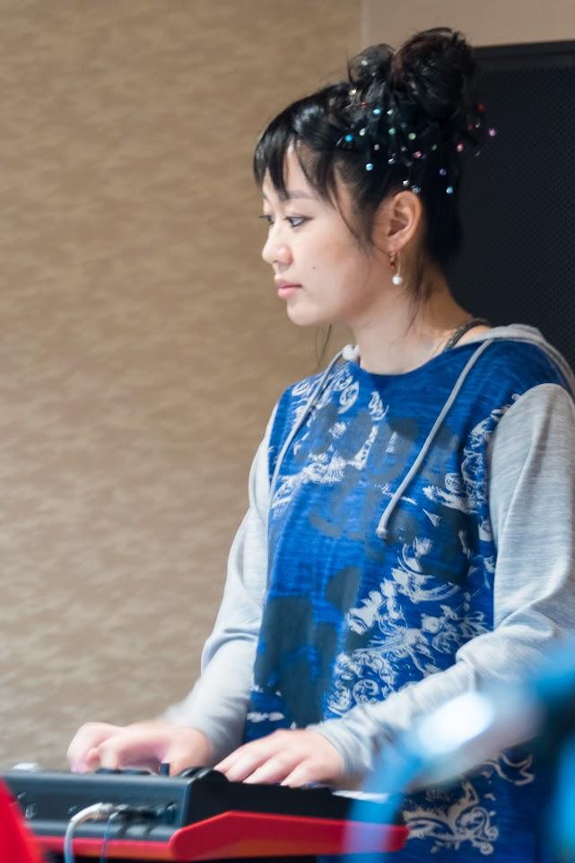 ハートビートの演奏・キーボード:山田ゆうき さん