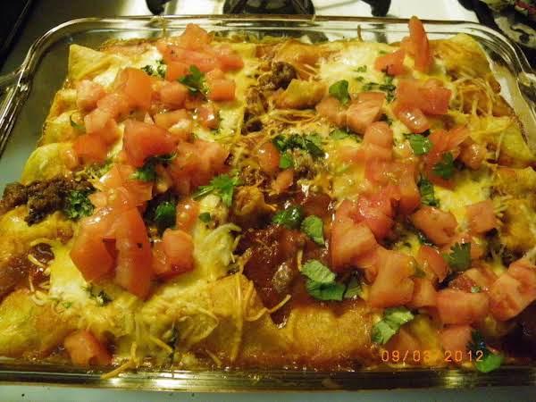 Easy Cheese Enchiladas Recipe
