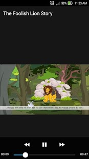 The Foolish Lion Children Learning Story Video - náhled