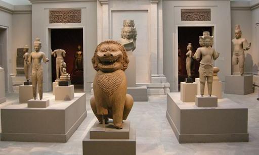人気のある美術館のエスケープ