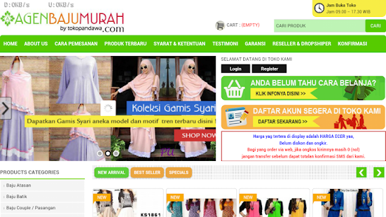 Agen baju murah 2.0- screenshot thumbnail