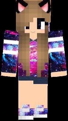 Pixel Girl Nova Skin