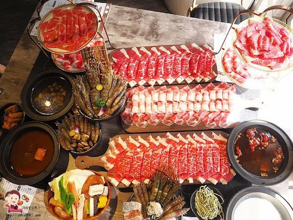 桃園中壢美食-嗑肉石鍋-再訪依舊是肉狂,這次單人套餐讓你海陸雙享受 (邀約)