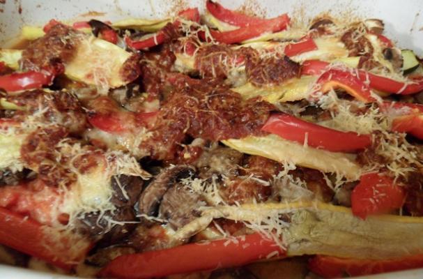 "Twice Roasted Ratatouille ""Lasagna"" Recipe"