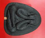 พระปิดตาปลดหนี้ หลวงปู่บัว ถามโก วัดเกาะตะเคียน เนื้อผงใบลาน ตะกรุดทองแดง พ.ศ. ๒๕๕๓