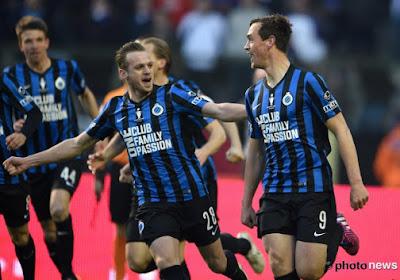 Le Club de Bruges s'adjuge la Coupe de Belgique (2-1) après huit ans de disette
