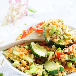 Asian Edamame & Quinoa Salad Recipe
