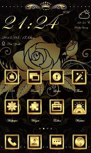 Dear Rose Theme-ZERO Launcher