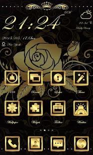 0 Dear Rose Theme-ZERO Launcher App screenshot