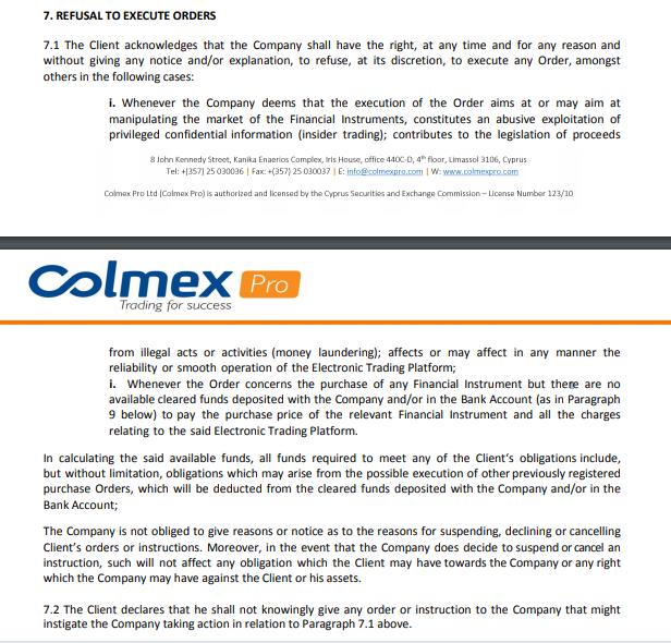 colmex pro scam