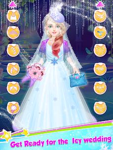Ice Princess Wedding Dress Up Stylist 2
