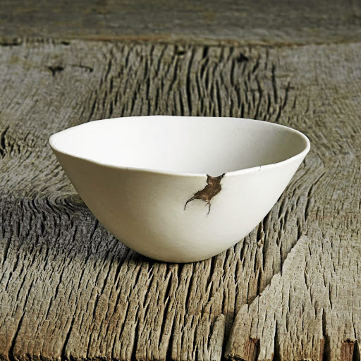 Wabi-sabi is a design aesthetic that's in love with asymmetry.