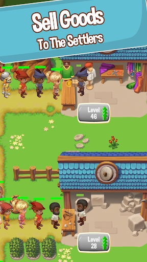 Idle Settlers: Medieval Trading Tycoon apkmr screenshots 2