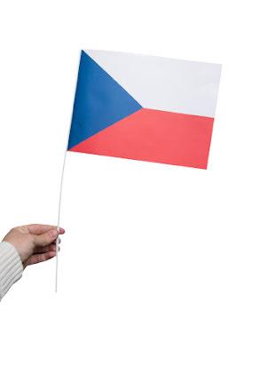 Pappersflagga, Tjeckien