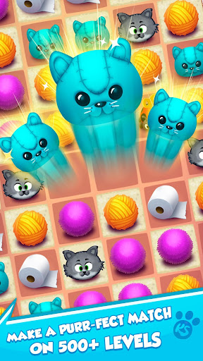 Kitty Snatch - Match 3 ft. Cats of Instagram game 1.0.77 screenshots 4