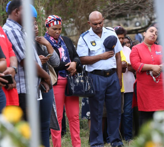 Religious Tributes For Dead Boy Believed To