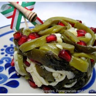 September Cactus Salad.
