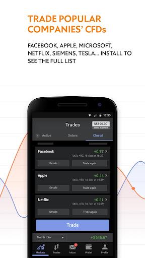 Libertex - online trading: Forex & Bitcoin CFD's 2.23.2 screenshots 4