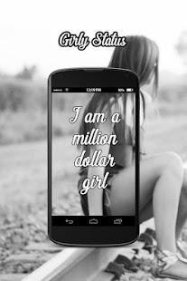 Girly Status - náhled