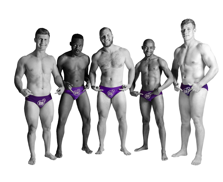 The purple briefs worn by men who participate in the prostate cancer awareness event, Daredevil Run