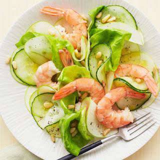 Prawn & Apple Salad.