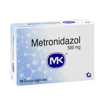 Metronidazol MK 500mg   Óvulo Caja x10Ovu.