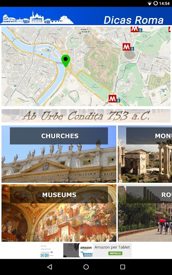 Dicas Rome Travel Guide- screenshot