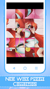 Puzzle for Winx - Winx Puzzle - náhled