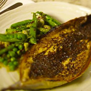Grilled Mackerel With Dulse Butter.