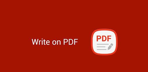 Write on PDF for PC