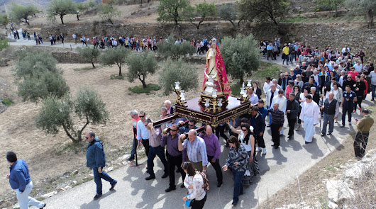 La romería de la Virgen no sube hasta Monteagud por la obra del Santuario