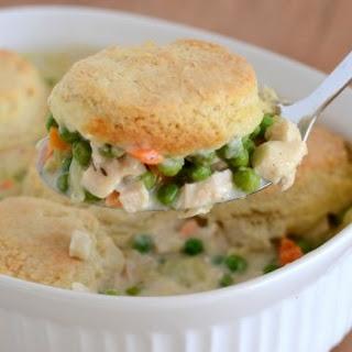 Chicken Biscuit Casserole.
