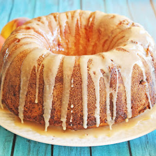 Honey Peach Pound Cake