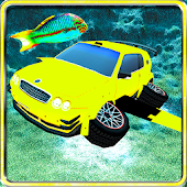 Underwater Surfer Sports Car