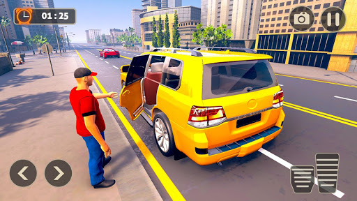 Prado Taxi Car Driving Simulator  screenshots 14